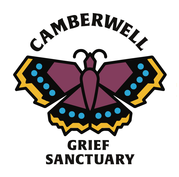 Camberwell Grief Sanctuary logo - butterfly